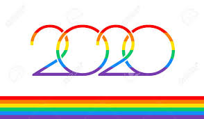 Pride 2020 Text And Rainbow Flag For Pride Events In 2020 ...